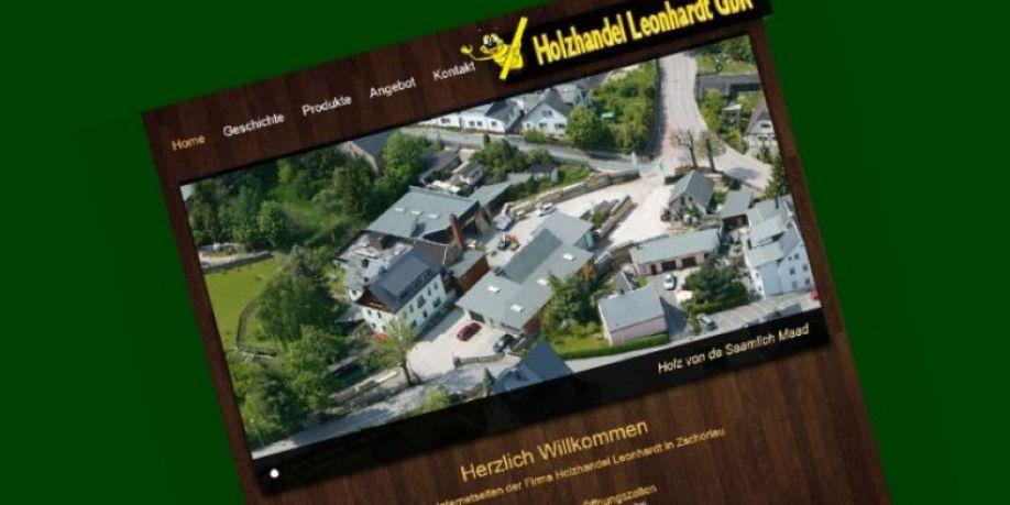 Redesign Holzhandel Leonhardt Print Und Mediendesign