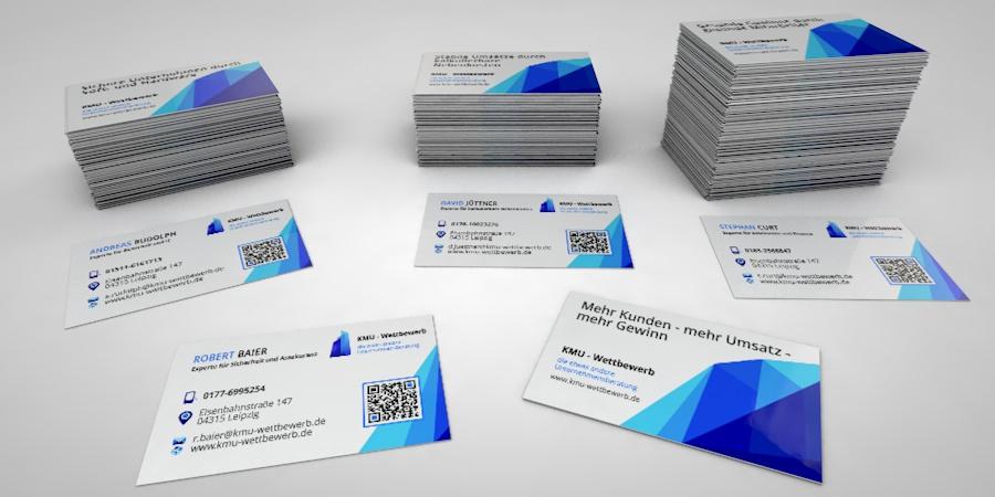 Visitenkarten Print Und Mediendesign